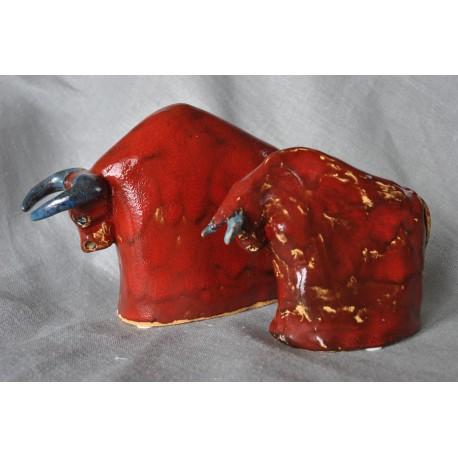 Byczki intensywnie czerwone